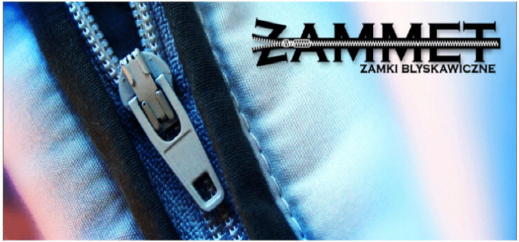 ZAMMET plastic metal zippers logos on zippers big choice of colors